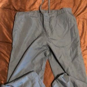 Scrub pant- dark teal